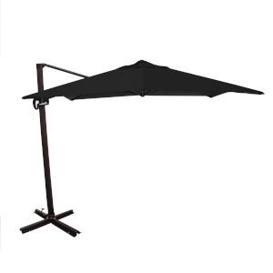 Cali Bronze with Black 10-Feet Sunbrella Patio Umbrella