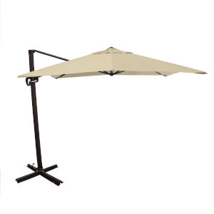 Cali Bronze with Antique Beige 10-Feet Sunbrella Patio Umbrella