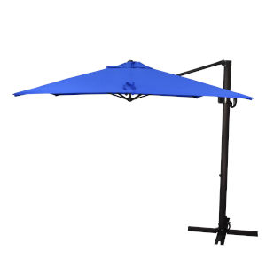 Cali Bronze with Pacific Blue Nine-Feet Sunbrella Patio Umbrella