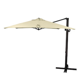 Cali Bronze with Antique Beige Nine-Feet Sunbrella Patio Umbrella