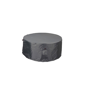Titanium Shield Outdoor 36-Inch Round Fire Table Cover