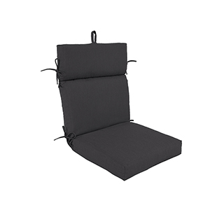 Pacifica Premium Patio Dining Chair Cushion in Slate