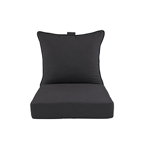 Pacifica Premium Deep Seat Lounge Cushion in Slate