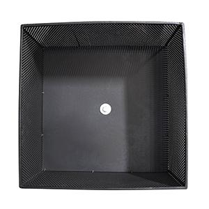 Sentinel Fire Basket in Light Gray Cement