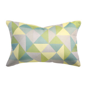 Pacifica 18-Inch Ruskin Lagoon Green Throw Pillow