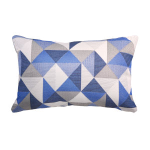 Pacifica 18-Inch Ruskin Blue Throw Pillow
