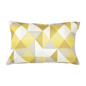Pacifica 18-Inch Ruskin Yellow Throw Pillow