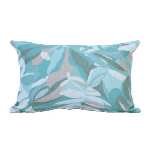 Pacifica 18-Inch Dewey Spa Green Throw Pillow