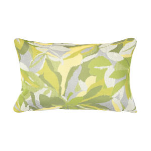 Pacifica Dewey Green Throw Pillow