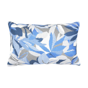 Pacifica Dewey Blue Throw Pillow