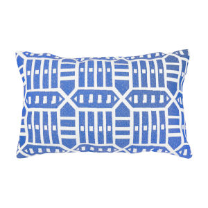Pacifica Roland Blue Throw Pillow