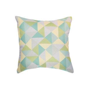 Pacifica Ruskin Lagoon Green Throw Pillow