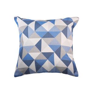 Pacifica Ruskin Blue Throw Pillow