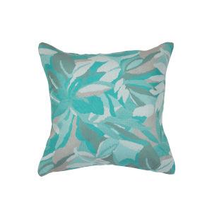Pacifica Dewey Spa Green Throw Pillow