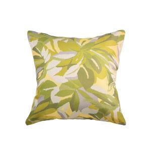 Pacifica 18-Inch Dewey Green Throw Pillow