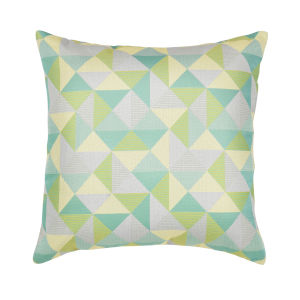 Pacifica 24-Inch Ruskin Lagoon Green Throw Pillow