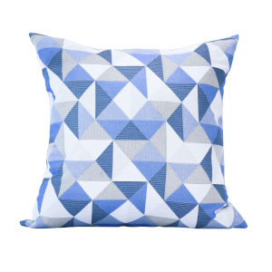 Pacifica 24-Inch Ruskin Blue Throw Pillow
