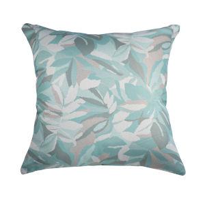 Pacifica 24-Inch Dewey Spa Green Throw Pillow