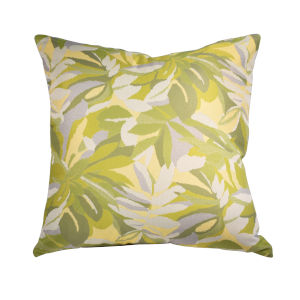 Pacifica 24-Inch Dewey Green Throw Pillow
