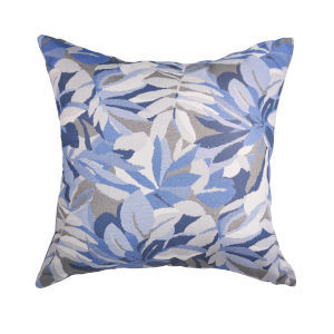 Pacifica 24-Inch Dewey Blue Throw Pillow
