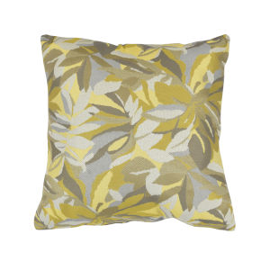 Pacifica 24-Inch Dewey Yellow Throw Pillow