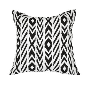 Pacifica 24-Inch Fire Island Black Throw Pillow