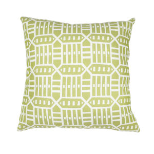 Pacifica 24-Inch Roland Green Throw Pillow