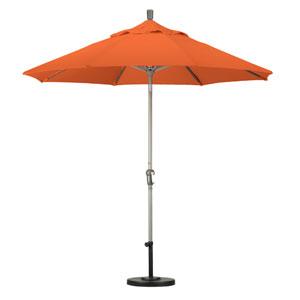 9 Foot Umbrella Aluminum Market Auto Tilt Champagne/Sunbrella/Tuscan