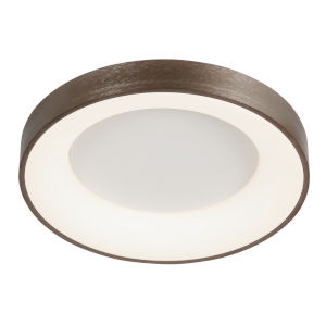 Acryluxe Sway Light Bronze LED Flush Mount