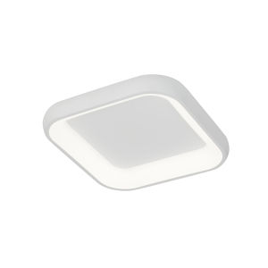 Acryluxe Polaris Matte White LED Flush Mount
