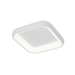 Acryluxe Polaris Matte White LED Flush Mount