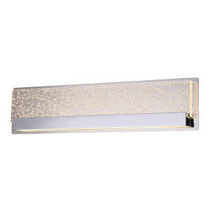 Acryluxe Alloy Polished Chrome Linear LED Bath Bar