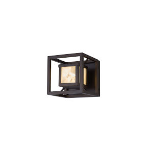 Alabaster Rocks Bayview Dark Bronze LED Outdoor Wall Mount