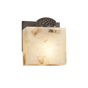 Alabaster Rocks! - Malleo Brushed Nickel Six-Inch LED ADA Wall Sconce