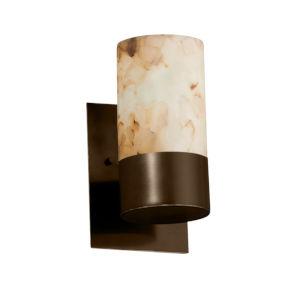 Alabaster Rocks Dakota Dark Bronze LED Wall Sconce