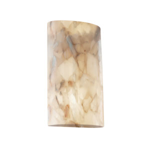 Alabaster Rocks Beige Two-Light LED Wall Sconce