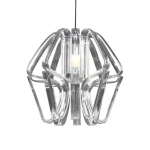 Bohemia - Kika Polished Chrome 24-Inch LED Chandelier
