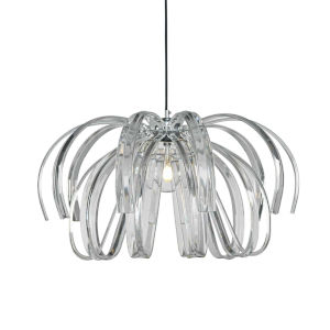 Bohemia - Danubio Polished Chrome 28-Inch LED Chandelier