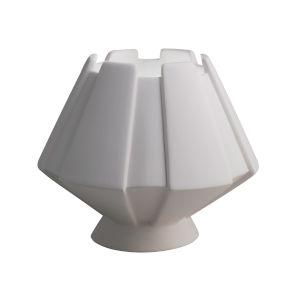 Meta Bisque LED Ceramic Portable Table Lamp