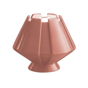 Meta Gloss Blush LED Ceramic Portable Table Lamp