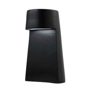 Beam Carbon Matte Black LED Ceramic Portable Table Lamp