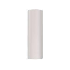 Ambiance Gloss White Closed Top ADA Tube GU24 LED Outdoor Wall Sconce