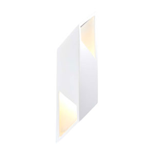 Ambiance Gloss White Six-Inch One-Light LED Wall Sconce