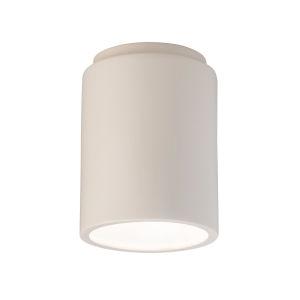 Radiance Matte White GU24 LED Cylinder Flush Mount