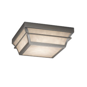 Clouds Brushed Nickel LED Flush Mount