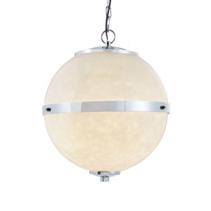 Clouds - Imperial Polished Chrome 17-Inch Four-Light LED Chandelier
