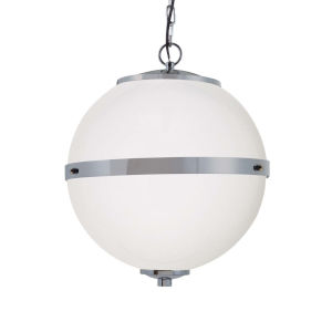Clouds - Imperial Matte Black 17-Inch Three-Light LED Chandelier