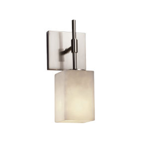 Clouds Union Brushed Nickel One-Light Wall Sconce