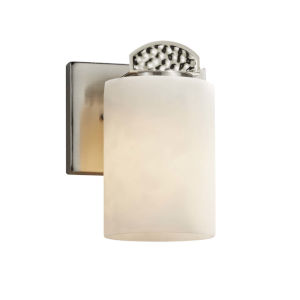 Clouds - Malleo Matte Black Six-Inch LED Wall Sconce