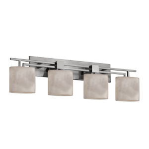 Clouds Aero Brushed Nickel Four-Light LED Bath Vanity
